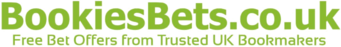 BookiesBets.co.uk offers the best and trusted bookmakers, which already have proved in the online betting industry.